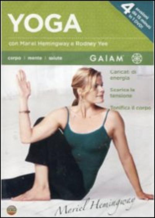 Yoga Con Rodney Yee E Mariel Hemingway (Dvd+Booklet)