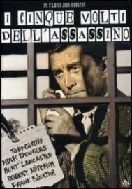 Copertina  I cinque volti dell'assassino [DVD] = The list of Adrian Messenger