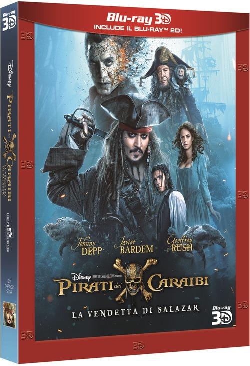 Pirati Dei Caraibi - La Vendetta Di Salazar (3D) (Blu-Ray 3D+Blu-Ray)