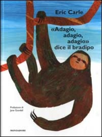 Copertina  \\Adagio, adagio, adagio\\ dice il bradipo