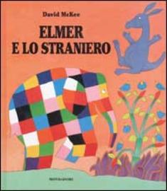 Copertina  Elmer e lo straniero