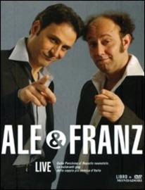 Copertina  Ale & Franz live [Cofanetto]