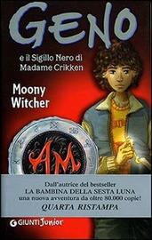 Copertina  Geno e il sigillo nero di Madame Crikken