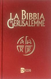 Copertina  La Bibbia di Gerusalemme
