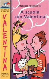 Copertina  A scuola con Valentina