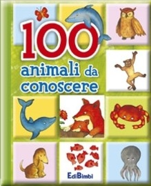 Copertina  100 animali da conoscere