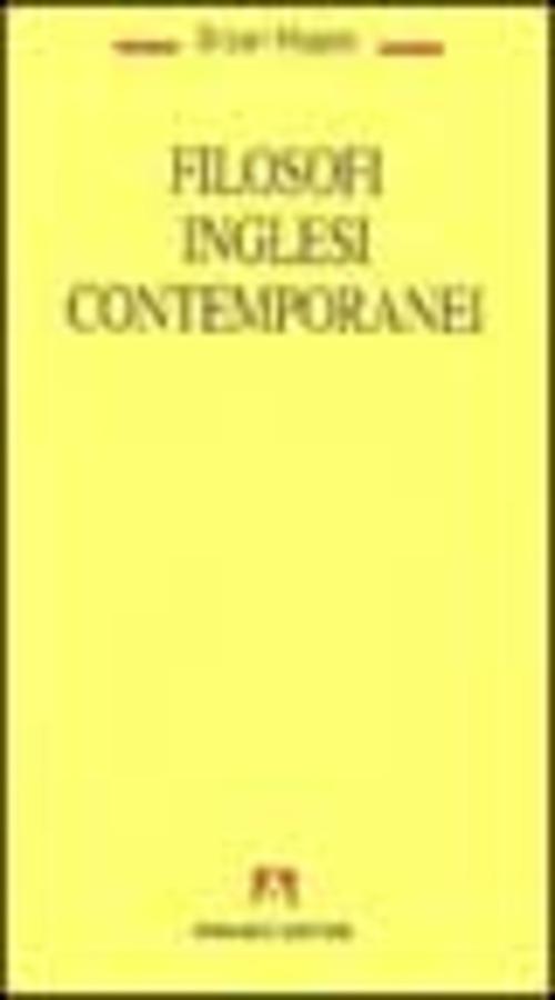 Filosofi inglesi contemporanei