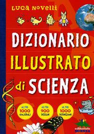 Copertina  Dizionario illustrato di scienza