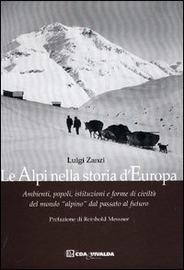 Copertina  Le Alpi nella storia d'Europa : ambienti, popoli, istituzioni e forme di civiltà del mondo \\alpino\\ dal passato al futuro