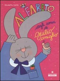 Copertina  Alfabeto degli amici di Giulio coniglio